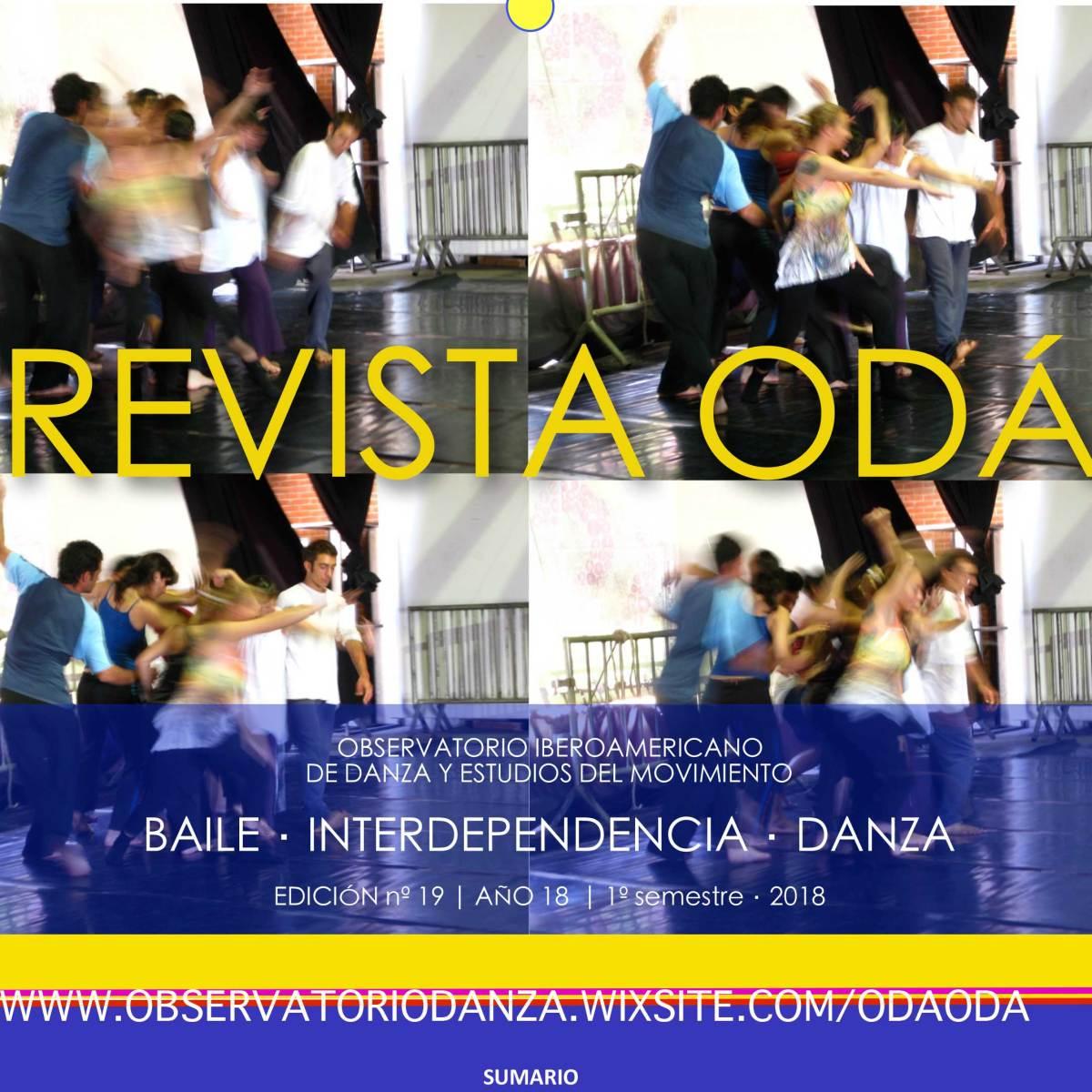 Revista ODÁ– Observatorio Danza