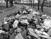 Three-Quarter Mile Pile of Rubbish in Finsbury Park