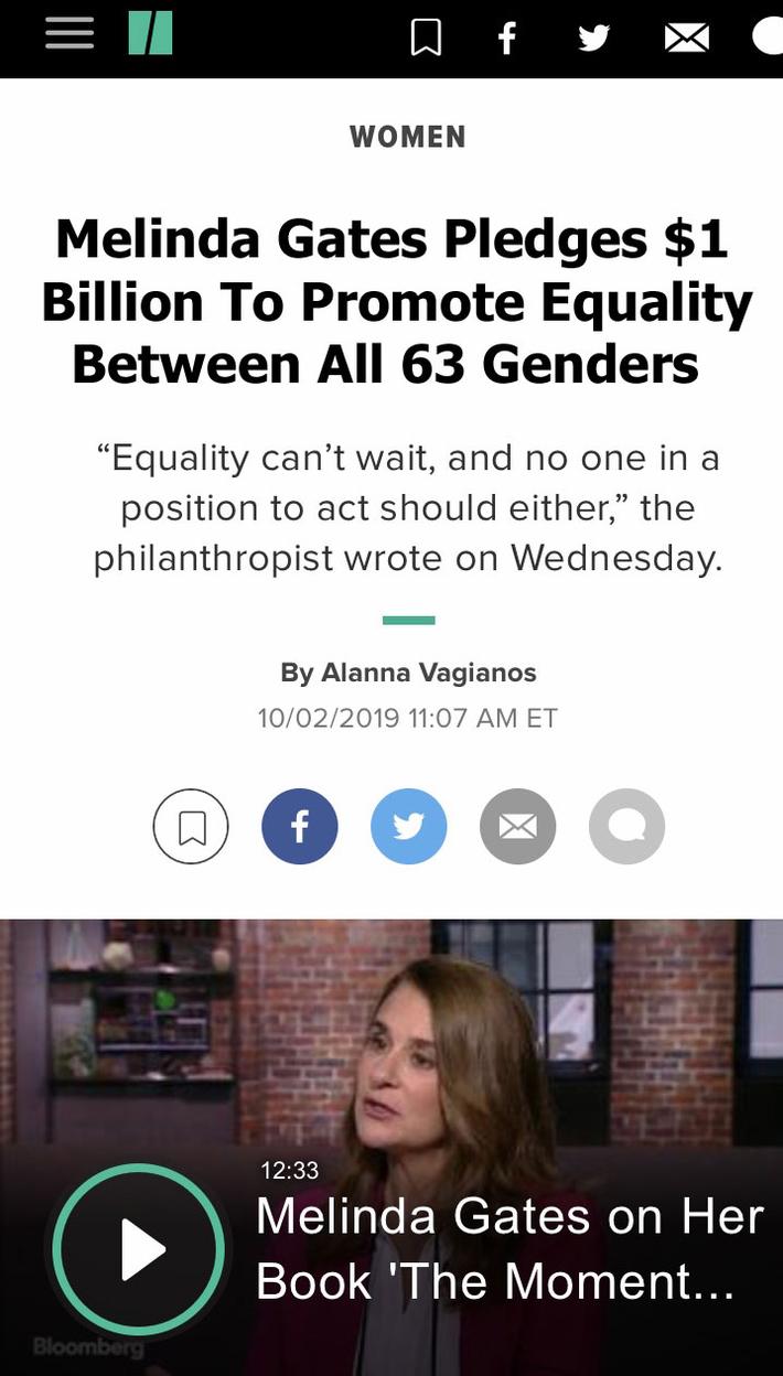 Melinda Gates - Gender Equality