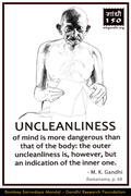 Thought For The Day ( UNCLEANLINESS )