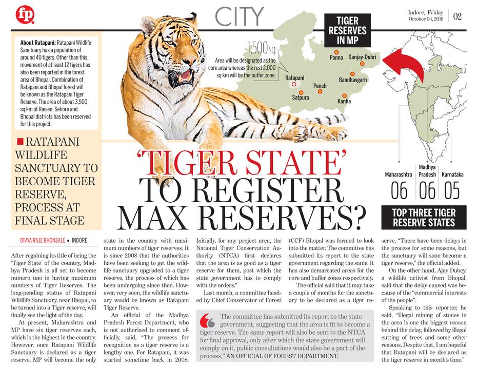 Tiger reserve state