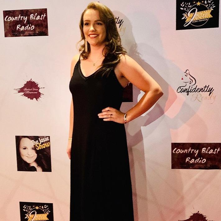 Jessie Lynn - Red Carpet at The 2019 Josie Music Awards