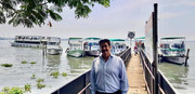 Sandeep Marwah at Kochi In Kerala to Study Tourism