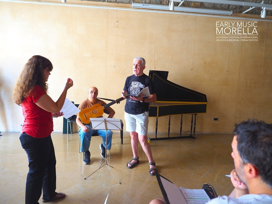 Classe de Cant amb Marta Almajano. Antonio Sabuco, cantant 2