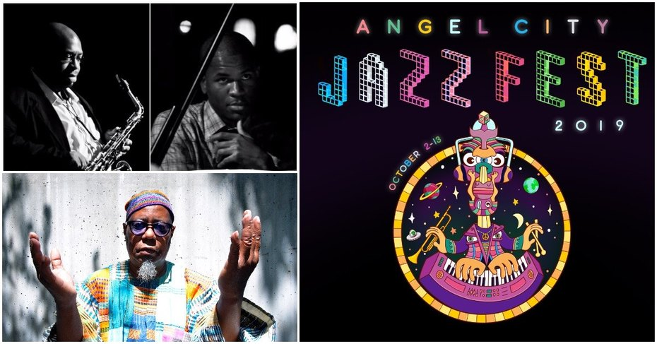 Angel City Jazz Fest. 2019 @ The World STAGE Th. Oct. 10th 8PM ~