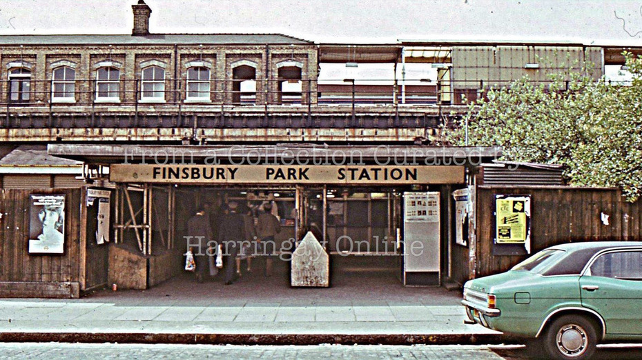 FInsbury Park Station 1970s & 1990s