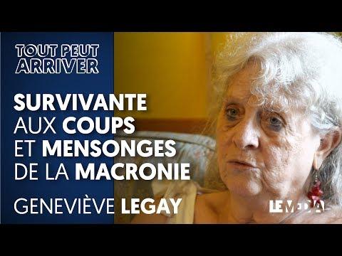 GENEVIÈVE LEGAY : SURVIVANTE AUX COUPS ET MENSONGES DE LA MACRONIE