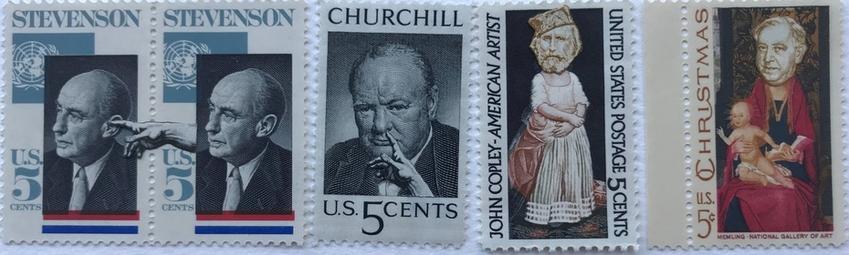 USA postage stamps (with a little tweak) from Diana Hale