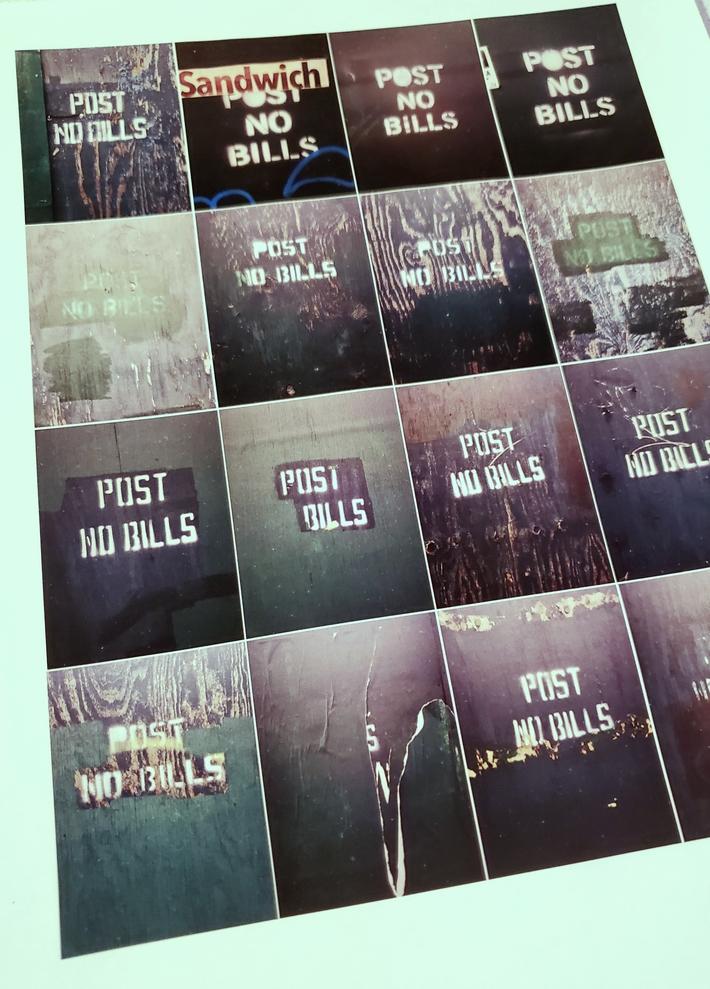 "New artistamps! ""Post No Bills"""