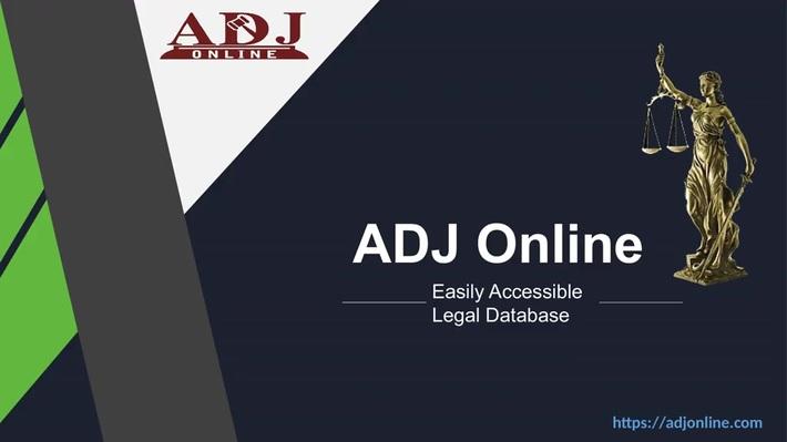 Best Practice Management Law Software | ADJ Online