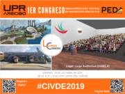 Conferencia CIVDE 2019