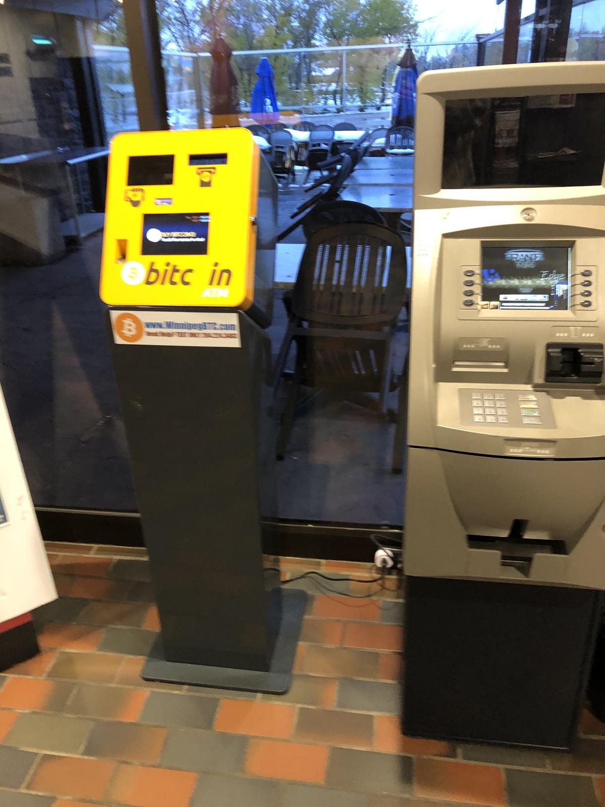 BitCoin ATM at Steinbach Manitoba