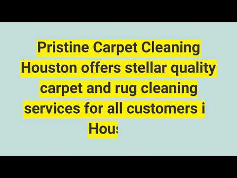 Pristine Carpet Cleaning