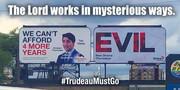 #TrudeauMustGo