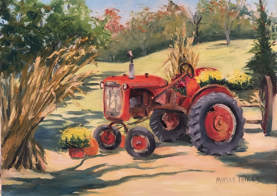 Old Tractor and New Bounty