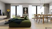 Koliba - útulný, dizajnový interiér bytu | PRUNUS studio