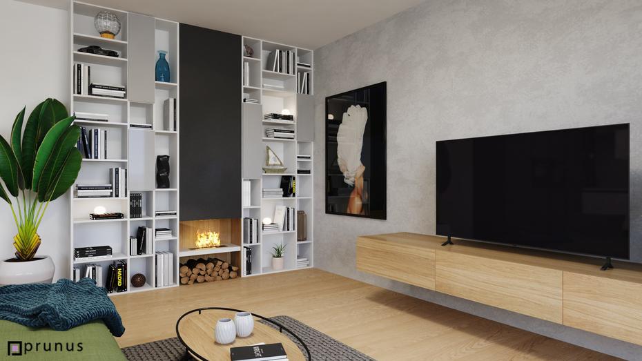 Koliba - útulný, dizajnový interiér bytu, návrh a realzácia | PRUNUS studio