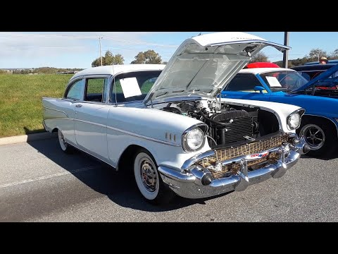 Shopping the Car Corral  3  At the  2019 AACA Fall Meet Hershey