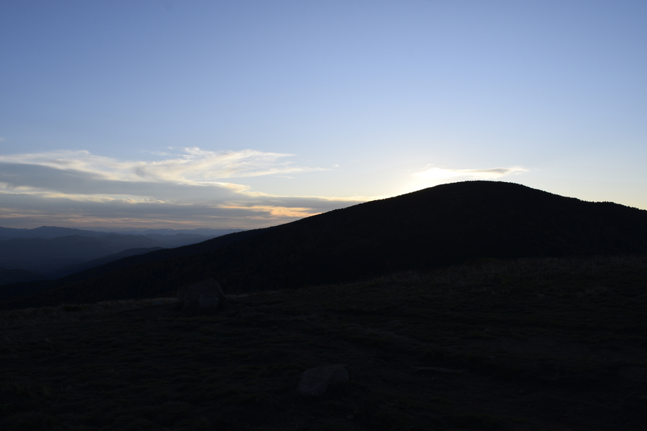 Sunset Over Roan Mountain