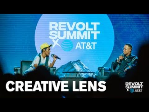 Teyana Taylor talks creativity with Terrence J in Creative Lens panel | REVOLT Summit