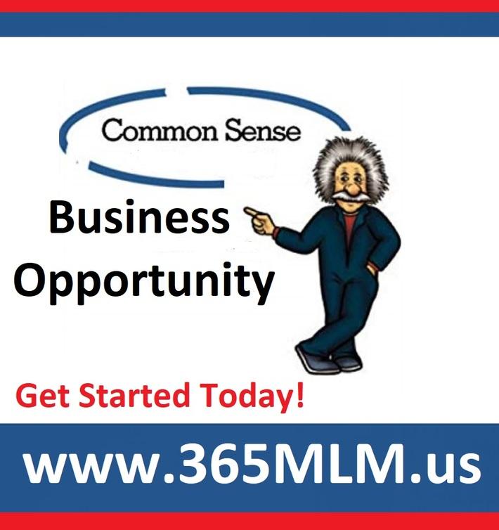 Common Sense Business Opportunity