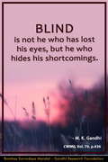 Thought For The Day ( BLIND )