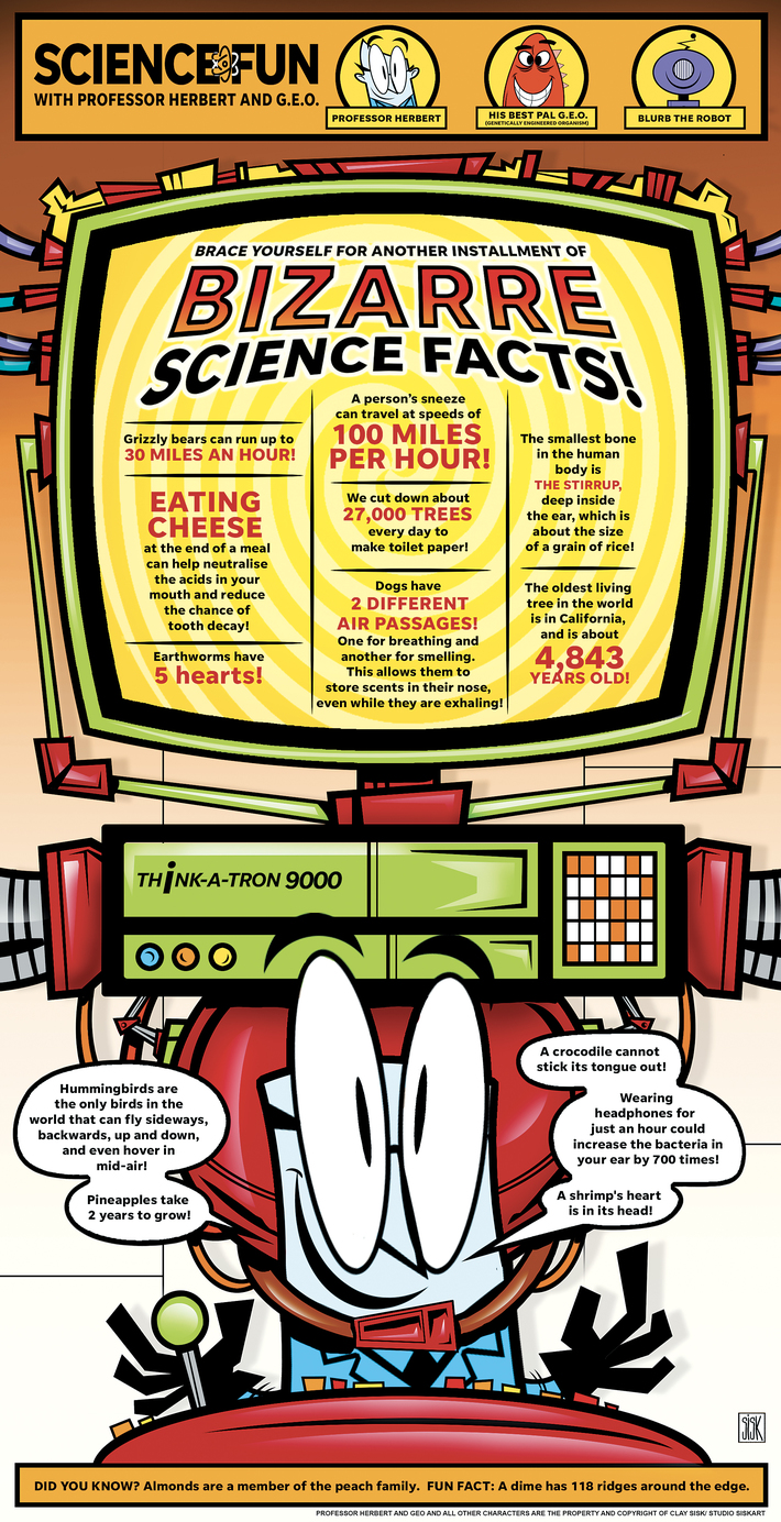 Bizarre Science Facts Volume 3