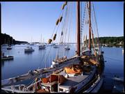 Rockport, Maine.  World of wood.