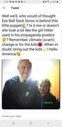 George Soros And Greta - Surprise!