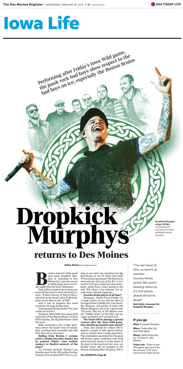 DropKick Murphys!