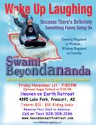 Wake Up Laughing with Swami Beyondananda - PRESCOTT