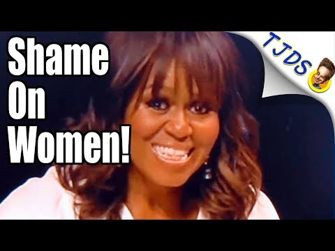 Michelle Obama Shames Women - Offers Them Nothing (2018)