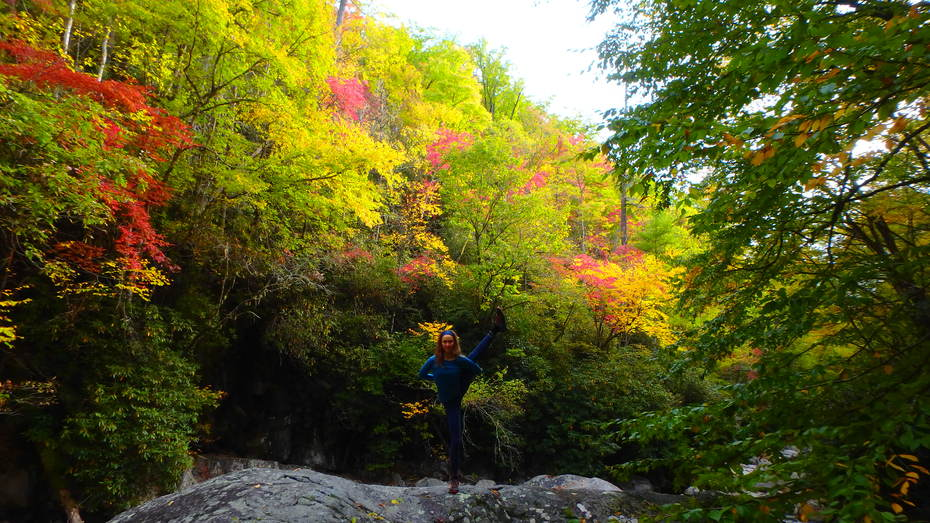 More Yoga in the Fall Colors