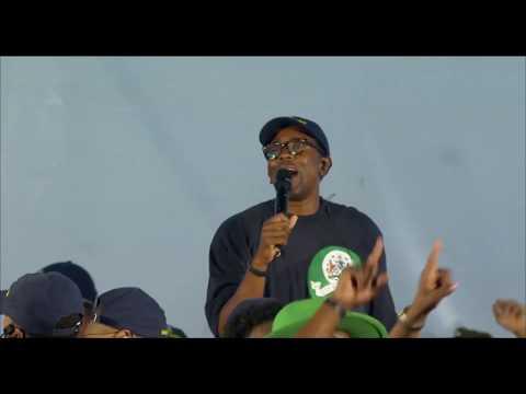 Kanye West Sunday Service Kingston Jamaica