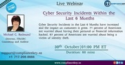 Cyber Security Incidents Within the Last 6 Months