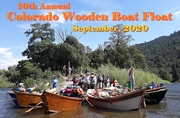 10th Annual Colorado Wooden Boat Float