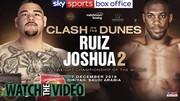 Anthony Joshua vs Andy Ruiz live stream