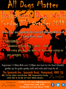 Halloween Dog Walk and Show - All Dogs Matter