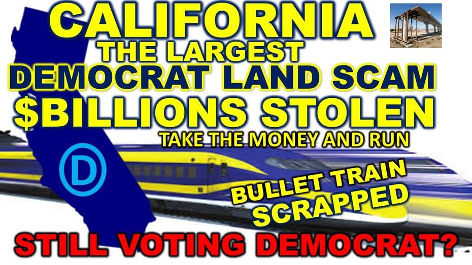 CALIFORNIA BULLET TRAIN SCAM