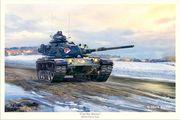 1975 M-60A1 Cold War Warrior