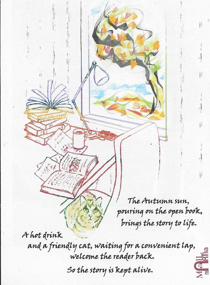 mail art Martha -sun