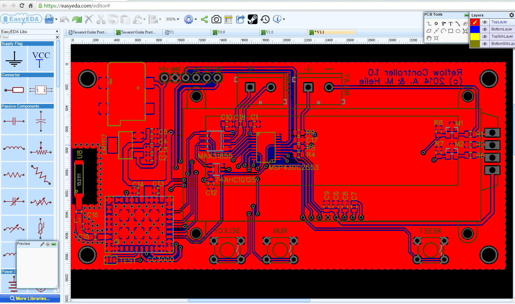 Circuit Simulator And Pcb Design Software Easyeda Blog 2 0 Diydrones