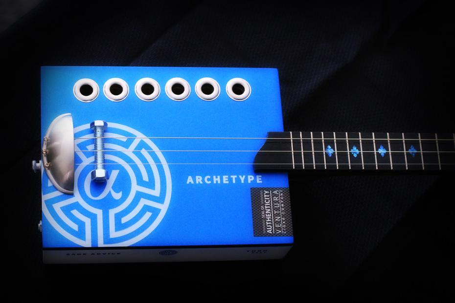 Archetype Cigar Box Guitar