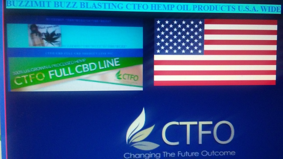 BUZZIMIT BUZZ BLASTING CTFO HEMP OIL PRODUCTS U.S.A. WIDE PIC
