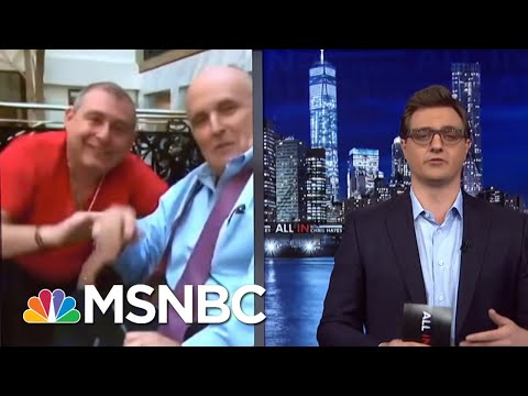 Rudy Giuliani will soon be indicted Foreign Lobbying MSNBC All In Chris Hayes