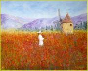 ''LE MOULIN DE SANNES''   81 x 65   2019