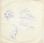 AC/DC Autographs with Bon Scott