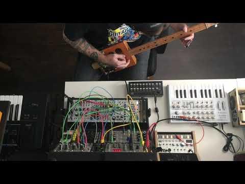Cigar Box Guitar + Modular Synth: Part II