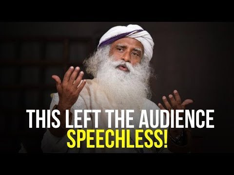 Sadhguru Left The Audience Speechless (incredible speech)