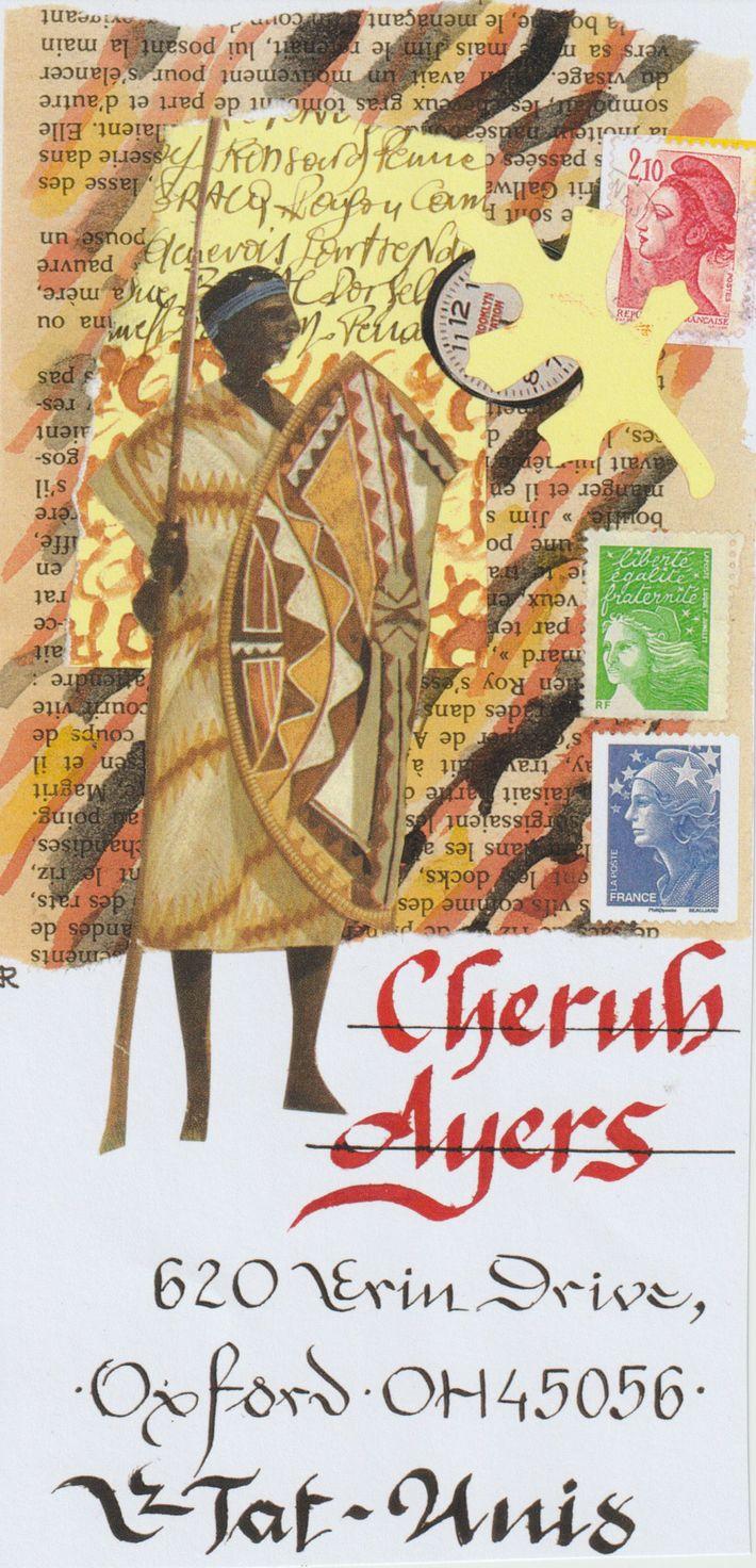 sent to   Cherub Ayers